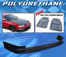 FOR HONDA PRELUDE 92-96  T-S FRONT BUMPER LIP + DICKIES FLOOR MAT GREY