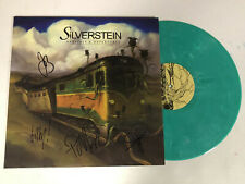 SILVERSTEIN AUTOGRAPHED SIGNED VINYL ALBUM 3 WITH EXACT SIGNING PICTURE PROOF