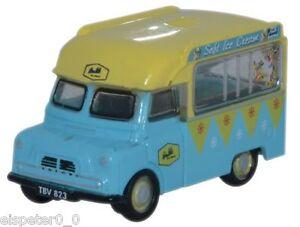 Bedford Ca Ice Cream Walls, N Gauge, Oxford Car Vehicle Model 1:148