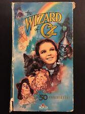 The Wizard of Oz VHS M301656 Hi-Fi 50th Anniversary Edition 1989 MGM/UA G CC