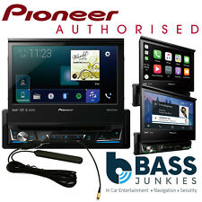"Pioneer AVH-Z7100DAB 7"" Flip Out DVD DAB Bluetooth WAZE iPhone Carplay AV Screen"