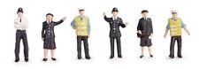 Scenecraft 36-041 Police & Security Staff (Pk6) Figures OO Gauge