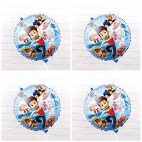 4 Paw Patrol balloon Heart 18 inch Squad birthday party foil balloon Helium
