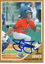 James Jones High Desert Mavericks 2011 Topps Heritage Signed Card