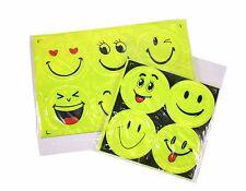 10 Big Emoji Face Plastic Sticker Paster Waterproof Reflective Light Home Decor