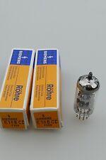 Paire Tube E188CC Siemens Gold pins