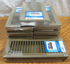 "8 Brown 4"" x 10"" Metal Floor Registers! House RV Mobile Home Steel Vent Diffuser"
