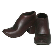 Dragon Models Short Brown Boots for Female Action Figures 1:6 (2702a1)