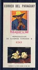 PARAGUAY - 1967 - BF - Riproduzione di quadri famosi. Van Gogh. E3862