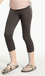 NEW Justice Girls Gray Athletic Crop Length Leggings 7 8 10 12 14 16 year Sporty