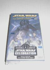 2015 Star Wars Celebration Topps excl. Empire Strikes Back Illustrated Card Set