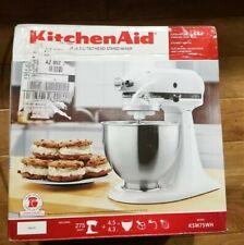 NEW Open box KitchenAid Classic Plus KSM75WH 4.5qt Tilt-Head Stand Mixer - White
