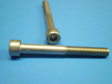 10 dadi acciaio inox + 10 viti DIN 912 M8 x 65 MM ACCIAIO INOX Acciaio