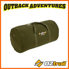 OZTRAIL CANVAS SWAG BAG SINGLE SIZE FITS KING SINGLE CAMPING DUFFLE BAG