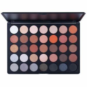 Crush Cosmetics 35K Whites Browns Greys Eyeshadow Palette 56.2g discontinued bra