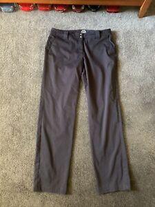 Slazenger Women's Golf Pants Smoke Gray Size 6