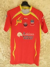 Maillot Rugby Club UZES Proact moulant shirt rouge M