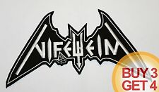 NIFELHEIM WT BACK PATCH BUY3GET4,BATHORY,DESTRO​YER 666,SODOM,BLACK THRASH METAL