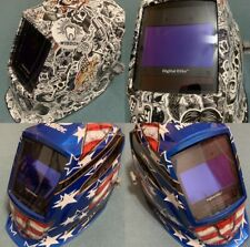 2 Miller Digital Elite Welding Helmets