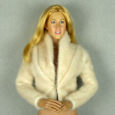 1/6 Phicen, Hot Toys, Kumik, ZC, TBL, Vogue Female Fahion Beige Color Fur Jacket