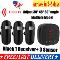 1byone Wireless Driveway Alert Alarm System Infrared Motion Sensor Security 300M