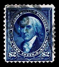 US.# 277  $1. USED 1895 BUREAU ISSUE OF 1895  - F/VF - $450.00 (ESP#5439)