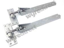 More details for adjustable gate hinges pair 400mm 16