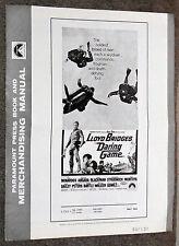 SKY DIVING/SCUBA DIVING original 1968 movie pressbook LLOYD BRIDGES/IVAN TORS