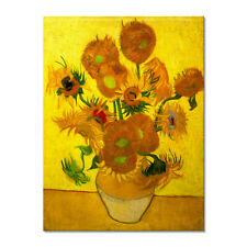 Canvas Print Pictures Van Gogh Painting Repro Wall Art Home Decor Sunflowers