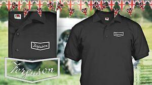 "Tractor Ferguson vintage ""Fergie"" old grey TE model polo shirt"
