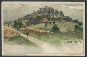 Lichtenberg: c.1900-1905 Illustrated Nister AK Postcard Artist-Signed F. HOCH
