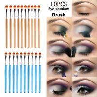 Hot 10pcs Eyeshadow/Concealer/Eyeliner/Blending/Eyebrow Eye Lip Makeup Brush A