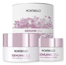 Genuine Cell : Cream Rich Piel Seca 50ML + Wrinkle Eye&Lip Balm 15ML Montibello