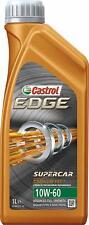 OLIO CASTROL EDGE 10W60 SUPERCAR TITANIUM FST SINTETICO BMW M VW 50101 50500