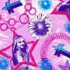 1 yard Hannah Montana Star Charm Bracelet Fabric