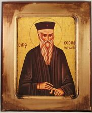 Greek Orthodox Icon of St. Kosmas (Cosmas)