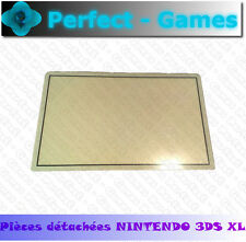 vitre protege ecran haut blanc protection top upper lcd cover plastic 3DS XL LL
