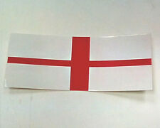 Caravan Motorhome Car Van Trailer Horsebox England Flag Sticker Badge
