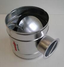 Absperrklappe dichtschliessend Lüftung DAT NW 100 mm Wickelfalzrohr