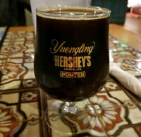 Yuengling Hershey's Chocolate Porter pint beer glass rare near mint!