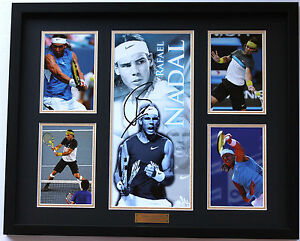 New Rafael Nadal Signed Limited Edition Memorabilia Framed