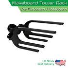 Black Wakeboard Tower Rack Surfboard / Kneeboard Combo Holder Water ski KWA-1
