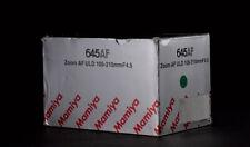 Empty Lens Box w Internal Packing for MAMIYA 645 AF ULD 105-210 Zoom4.5 /AFD-DF+