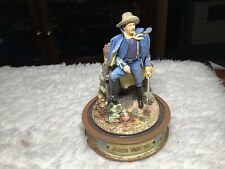 "Franklin Mint Limited Edition John Wayne ""Union Soldier� Sculpture Collection"