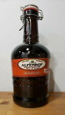 Alpenhof Ellicot Mills Brewing 64oz Empty Beer Growler