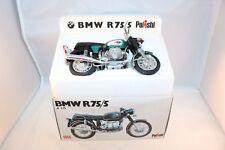 Polistil MS 105 BMW R75/5 motorcycle 99.9% mint in box 1:15 all original