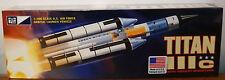 MPC 790 U.S. Air Force Titan IIIc Rocket model kit 1/100