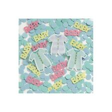 14g Baby Shower,Christening Baby Clothes,Plastic Table Confetti,Neutral Girl/Boy