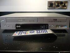DAEWOO 4500P DVD & VCR RECORDER PLAYER COMBI REGION FREE *TRANSFER TAPE TO DVD*