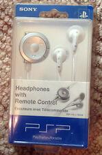 SONY Headphones With Remote Control White PSP-140 U / 98524